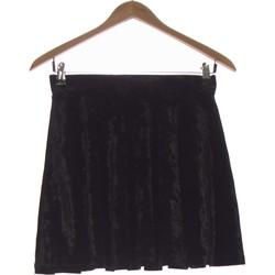 Vêtements Femme Jupes Atmosphere Jupe Courte  36 - T1 - S Noir