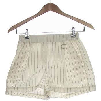 Vêtements Femme Shorts / Bermudas Bershka Short  34 - T0 - Xs Blanc