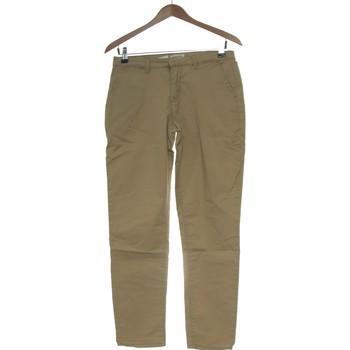 Vêtements Femme Chinos / Carrots Cache Cache Pantalon Slim Femme  36 - T1 - S Beige