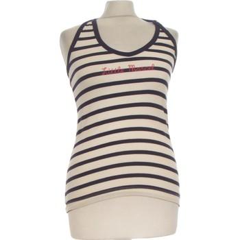 Vêtements Femme Débardeurs / T-shirts sans manche Little Marcel Débardeur  38 - T2 - M Blanc