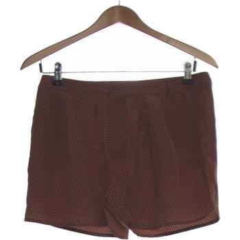 Vêtements Femme Shorts / Bermudas Des Petits Hauts Short  36 - T1 - S Marron