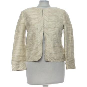 Vêtements Femme Gilets / Cardigans Banana Republic Gilet Femme  36 - T1 - S Beige