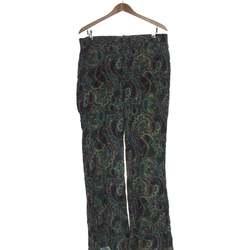 Vêtements Femme Pantalons Zara Pantalon Droit Femme  40 - T3 - L Vert