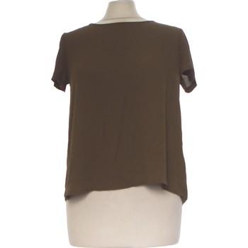 Vêtements Femme Tops / Blouses Forever 21 Top Manches Courtes  36 - T1 - S Vert
