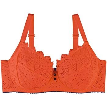 Sous-vêtements Femme Corbeilles & balconnets Pommpoire Soutien-gorge grand maintien orange Magma Orange