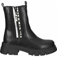 Chaussures Femme Boots Dockers Bottines Schwarz