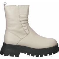 Chaussures Femme Bottines Ilc Bottines Beige/Schwarz