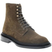 Chaussures Femme Boots Freelance CHRIS 35 LACE UP BOOT KAKI