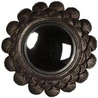 Maison & Déco Miroirs Chehoma Miroir convexe coquillages 22cm Argenté