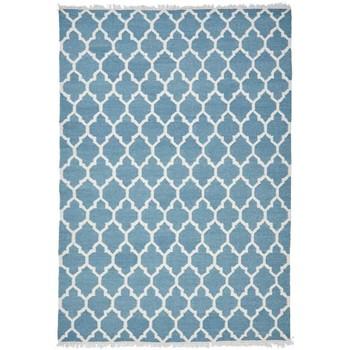 Maison & Déco Tapis Unamourdetapis Tapis kilim Afrira Bleu 240x340 cm Bleu