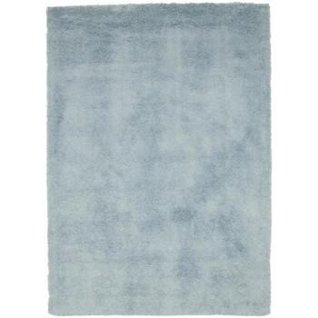 Maison & Déco Tapis Unamourdetapis Tapis shaggy poils long Sg Chic Bleu 80x150 cm Bleu
