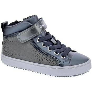 Chaussures Fille Bottines Geox Kalispera Gris