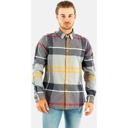 Vêtements Homme Chemises manches longues Barbour iceloch tailored shirt tn71 modern tartan gris