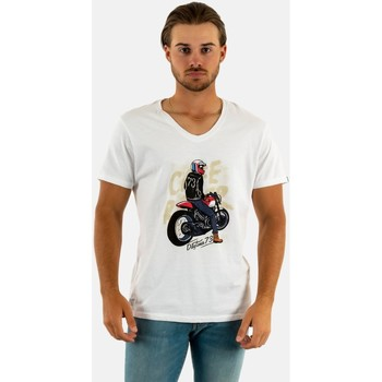 Vêtements Homme T-shirts manches courtes Daytona guy on ride bright white blanc