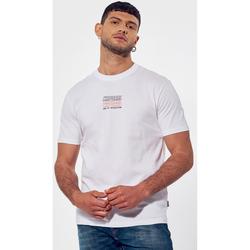 Vêtements Homme T-shirts manches courtes Kaporal DUSKO Blanc