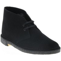 Chaussures Homme Boots Clarks DESERT BOOT 2 H BLACK SD