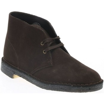 Chaussures Homme Boots Clarks DESERT BOOT 2 H BROWN S