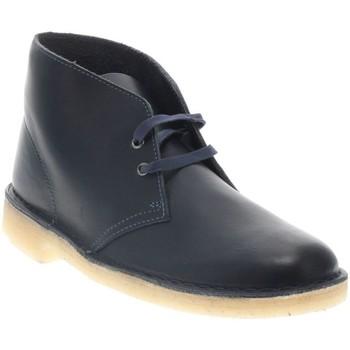Chaussures Homme Boots Clarks DESERT BOOT 2 H NAVY C