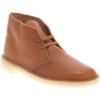 Chaussures Homme Boots Clarks DESERT BOOT 2 H DARK TAN
