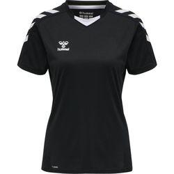 Vêtements Homme T-shirts manches courtes Hummel Maillot femme  hmlhmlCORE noir