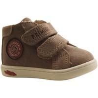 Chaussures Garçon Baskets montantes Primigi BABY LIKE BEIGE