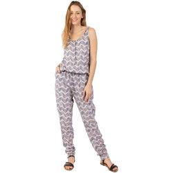 Vêtements Femme Combinaisons / Salopettes Coton Du Monde -Pantalon-Mallaury Taupe