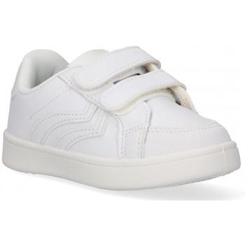 Chaussures Garçon Baskets basses Luna Collection 59593 blanc