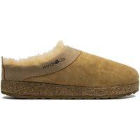 Chaussures Femme Chaussons Haflinger HF-SNOWB-bei-D BEIGE