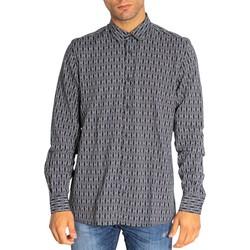 Vêtements Homme Chemises manches longues Antony Morato MMSL00614-FA430498 Noir