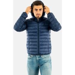 Vêtements Homme Doudounes JOTT doudoune nico ml capuche 124  abysse bleu