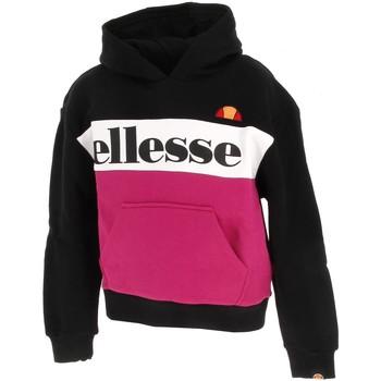Vêtements Fille Sweats Ellesse Chelina fille jr black pink Rose