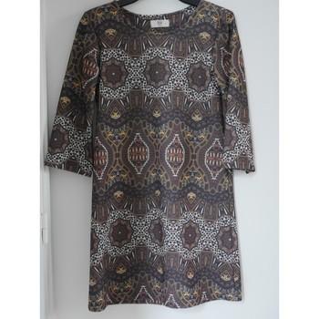 Vêtements Femme Robes courtes Bsb Robe impression ethnique Multicolore