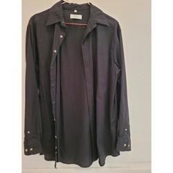 Vêtements Homme Chemises manches longues C & A Chemise C&A taille M Noir
