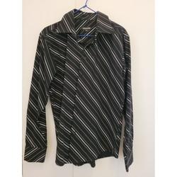Vêtements Homme Chemises manches longues Take A Look Chemise manches longues taille 39-40 Noir