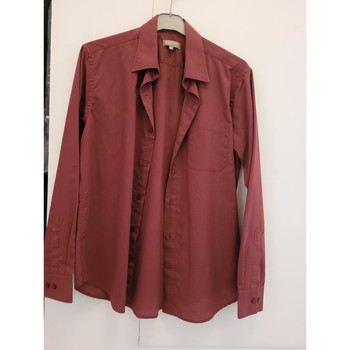 Vêtements Homme Chemises manches longues In Extenso Chemise manches longues taille 39-40 Bordeaux