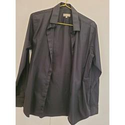 Vêtements Homme Chemises manches longues In Extenso Chemise manches longues taille 39-40 Noir