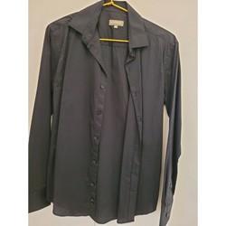 Vêtements Homme Chemises manches longues In Extenso Chemise manches longues taille 37-38 Noir