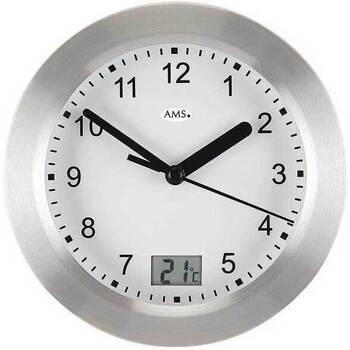 Vêtements de nuit Horloges Ams 9223, Quartz, White, Analogue, Modern Blanc
