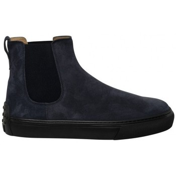 Chaussures Homme Boots Tod's TRONCHET.ELAST. CASSETTA CASUAL 03E UOMO TOD'S Bleu