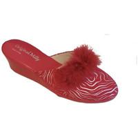 Chaussures Femme Sabots Original Milly CORDONNIER DE CHAMBRE MILLY - 300 ZÈBRE ROUGE Multicolor