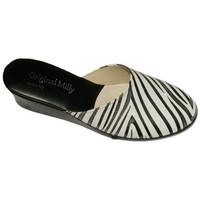 Chaussures Femme Sabots Original Milly CIABATTA DE CHAMBRE MILLY - 5000 ZÈBRES Multicolor