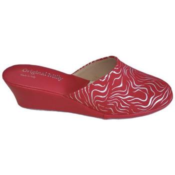 Chaussures Femme Sabots Original Milly CORDONNIER DE CHAMBRE MILLY - 5000 ZÈBRE ROUGE rouge