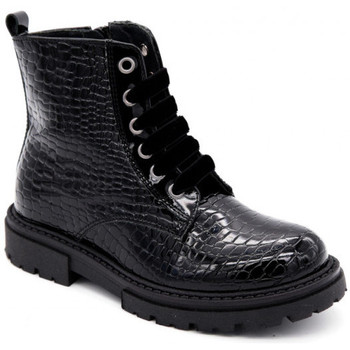 Chaussures Fille Boots Reqin's taho caiman Noir