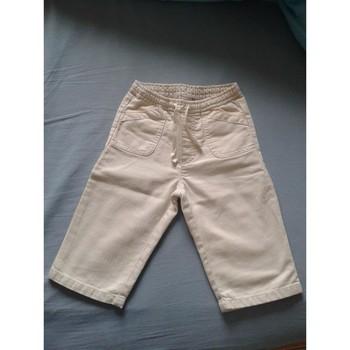 Vêtements Enfant Pantalons 5 poches Sans marque Pantalon bébé BONPOINT - 12 mois Beige