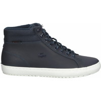Chaussures Homme Baskets montantes Lacoste Sneaker Navy