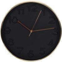 Maison & Déco Horloges The home deco factory Horloge ronde Deco Chic - Diam. 30,5 cm Noir