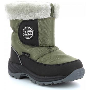Chaussures Garçon Bottes de neige Kickers Jumpsnow Wpf KAKI