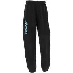 Vêtements Garçon Pantalons de survêtement Asics Sigma blk trq pant jr Noir