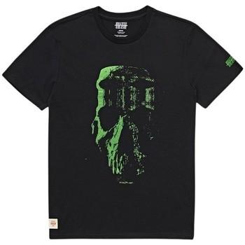Vêtements Homme T-shirts manches courtes Globe T-shirt  Refuse Skull noir