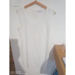 Vêtements Femme Robes courtes Julie Guerlande Robe banche Blanc